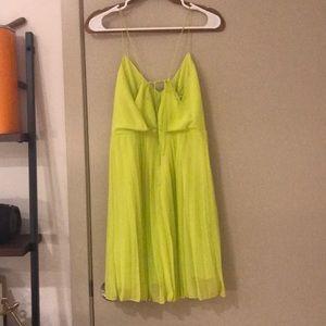 ASOS Dresses - ASOS bright yellow cocktail dress